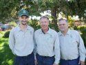 Gingrich Horticulture Service - (l to r) BJ Walker, John Gingrich, Pete Gumas - group 1